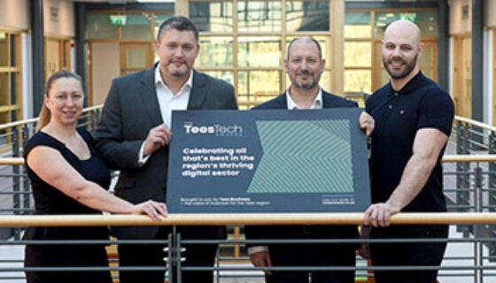 Communicate Sponsor Tees Tech Awards 2020