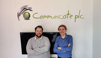 Communicate Technology PLC expands with two new apprentices